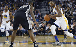 Spurs crush Warriors, Cavs win