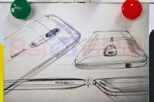 Este artístico dibujo sería el próximo Nokia 9 ¡con doble cámara!