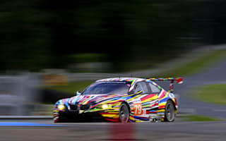 Video: Koons has high hopes for BMW art car at Le Mans