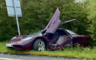 Could this be the end for Mr Bean's McLaren F1?