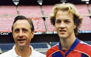 Jordi Cruyff thanks well-wishers following his father's death