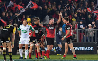 Crusaders stay perfect with win over Hurricanes, Highlanders march on