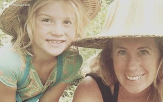 Mum quits job to travel the world with seven-year-old daughter