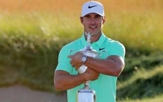 U.S. Open champion Koepka reveals helpful Johnson call