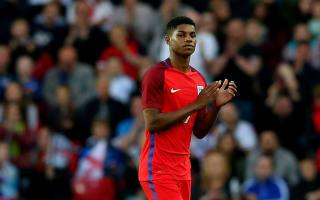 Rashford drops down to England Under-21 squad