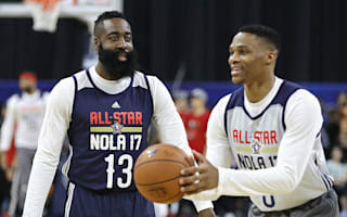 Westbrook not friends with Harden on court as Thunder star focuses on playoffs