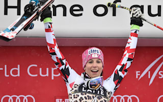 Puchner claims surprise St. Moritz downhill win