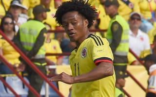 Colombia 3 Haiti 1: Cuadrado helps Pekerman's side to win