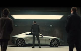 Video: Bond receives new set of wheels in Spectre