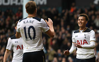 What a first half! - Record-breaking Kane lauds Tottenham display