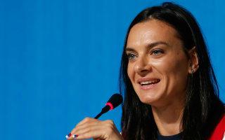 Isinbayeva seeks Russian athletics presidency