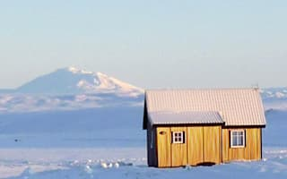 This tiny cabin is perfect for watching the Northern Lights