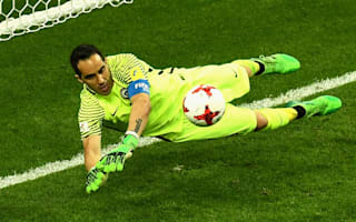 Portugal 0 Chile 0 (aet, 0-3 pens): Bravo the hero in shoot-out victory