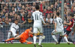 Genoa 3 Juventus 1: Simeone nets double in shock win