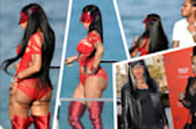 Nicki Minaj – Buns Out in Miami!