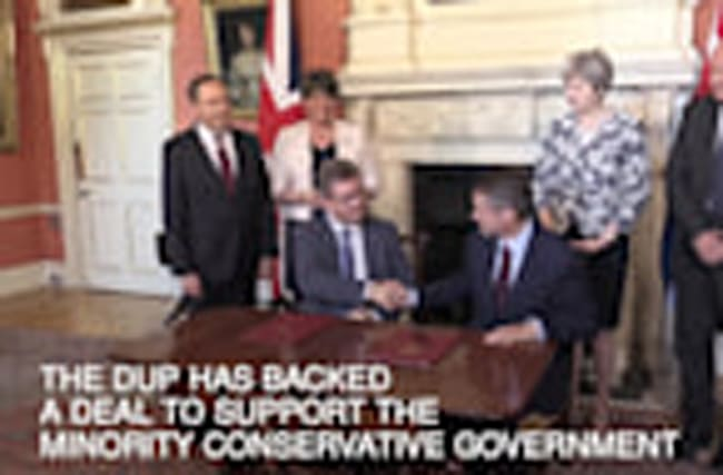 Conservative-DUP deal: In 60 seconds