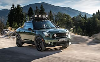 Mini Paceman Adventure is a petite pick-up for off-road japes