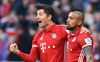 Lewandowski joins Bayern Munich's 100 club