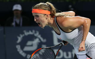 Wozniacki falls at final hurdle again as Svitolina is crowned Dubai champion
