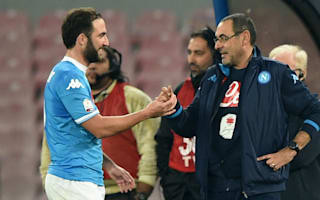 Sarri will greet Higuain 'like a son who made him angry'