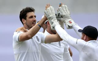 Finn strikes late as England close in on first Test victory