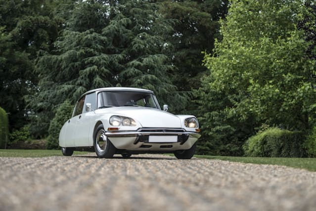 This mint 1973 Citroen DS Super 5 is about to go up for auction