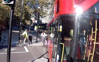 Bus driver accused over deliberately squeezing cyclist off the road