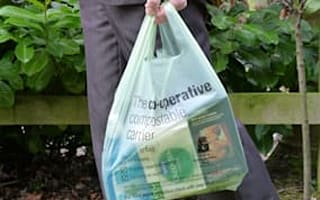 Co-op offers compostable carrier bags