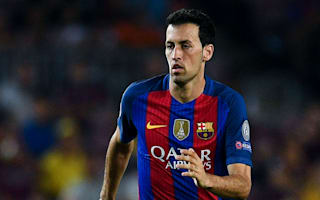 Busquets drops out of Barcelona squad