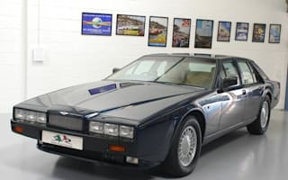 Rare Aston Martin Lagonda offered for sale