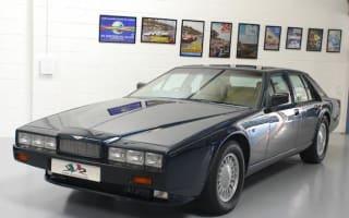 Rare Aston Martin Lagonda offered for sale