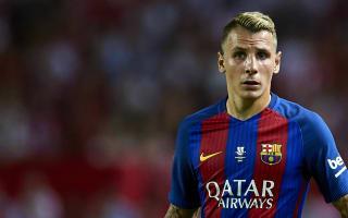 Barca's Digne reveals Roberto Carlos inspiration