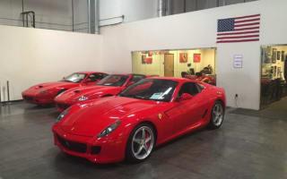 Nicholas Cage Ferrari goes under the hammer online