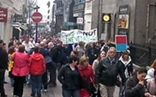 TUC March for the Alternative begins