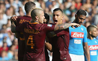 Roma v Napoli: Dzeko danger, Mertens magic and why this could be the best Serie A match in years