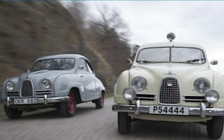 Saab's entire heritage fleet up for sale