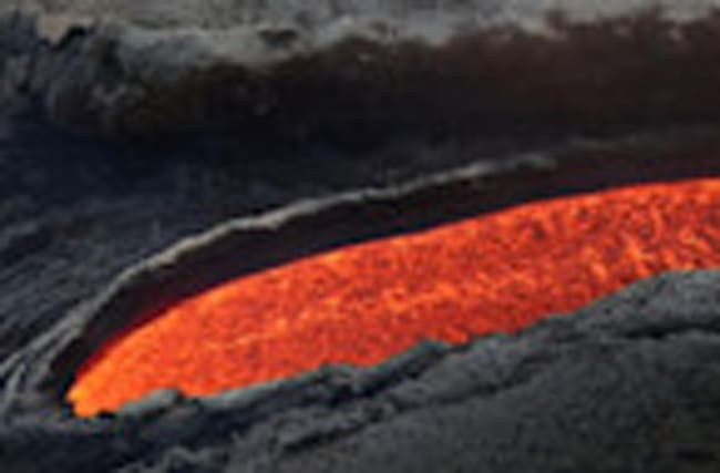 Lava flows down Europe's most active volcano