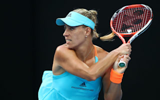Nervy champion Kerber stumbles through Melbourne opener