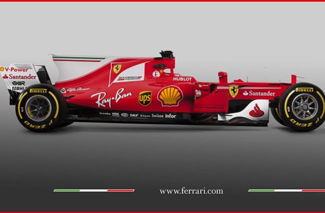 Ferrari unveil latest challenge to Mercedes, the SF70H