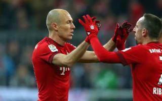 Replacing Robben and Ribery not easy - Hitzfeld