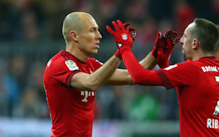 Replacing Robben and Ribery not easy - Hitzfeld