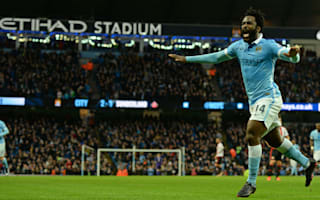 Bony has no regrets over decision to join Manchester City
