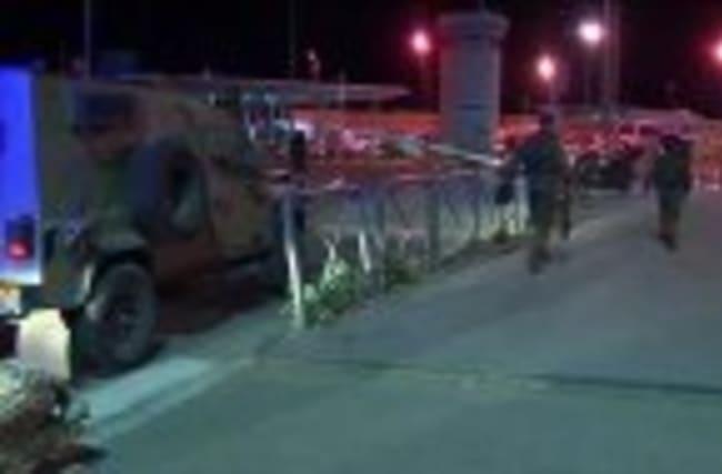 Palestinian attacker shot dead