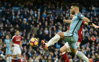 Aguero disappointed with draw despite landmark City goal