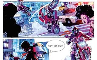 BMW partners with publisher to make comic about new motorcycle