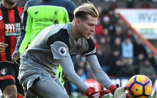 Klopp defends Karius after Bournemouth blunder
