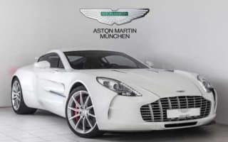 Pristine Aston Martin One-77 for salefor $3.2million