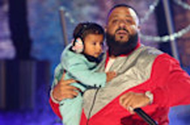 "DJ Khaled's Son Asahd Steals The Show During ""I'm The One"" BET Awards Performanc"