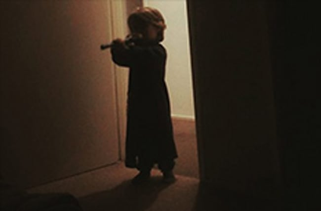 'Sheer terror' as toddler wakes parents with recorder