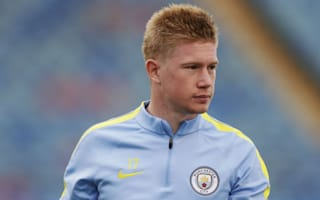 De Bruyne out for up to three weeks - Guardiola